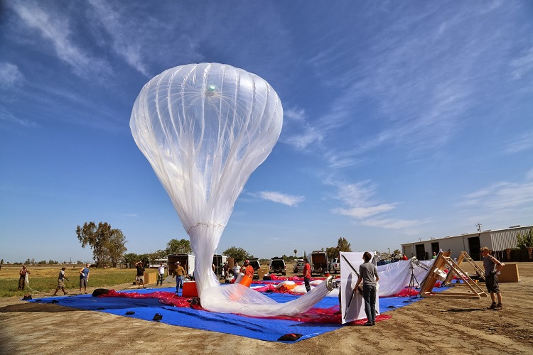 Hot Air Balloon Lift Calculator and Project Loon