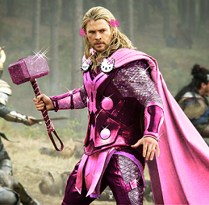 thor in purple